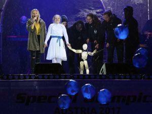 Special Olympics mit Helene Fischer