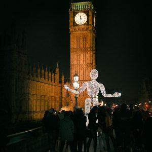 Großpuppe Dundu in London